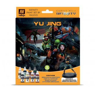 Infinity Yu Jing - Farbset mit Figur   · VAL 70235 ·  Acrylicos Vallejo
