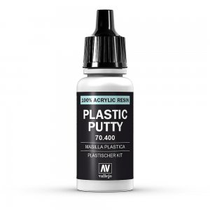 Plastic Putty (17ml) · VAL 70400 ·  Acrylicos Vallejo