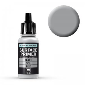 Grundierung Grau 17ml (Surface Primer) · VAL 70601 ·  Acrylicos Vallejo