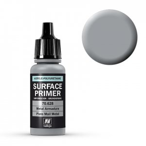 Plate Mail Metal - Surface Primer - 17 ml · VAL 70628 ·  Acrylicos Vallejo