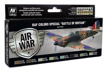 Air War - Farbenset RAF Luftschlacht um England - 8x17ml · VAL 71144 ·  Acrylicos Vallejo
