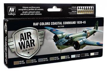 Air War - Farbenset RAF Coastal Command 1939-1945 - 8x17ml · VAL 71148 ·  Acrylicos Vallejo