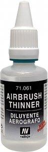 Airbrush Verdünner (Thinner) - 200ml · VAL 71161 ·  Acrylicos Vallejo