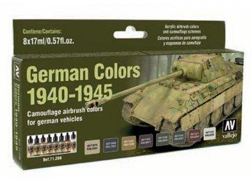 Deutsche Farben 1940-1945, Militär · VAL 71206 ·  Acrylicos Vallejo