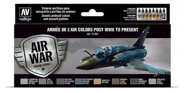 Farbset - Armee de l Air, ab 1945 · VAL 71627 ·  Acrylicos Vallejo