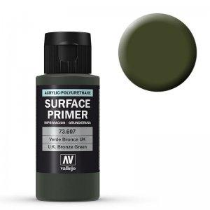 Grundierung 607 UK Bronzegrün (Primer UK Bronze Green) 60ml · VAL 73607 ·  Acrylicos Vallejo