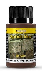Schlamm-Spritzer, braun, 40ml · VAL 73805 ·  Acrylicos Vallejo