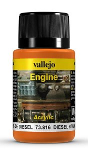 Diesel-Flecken, 40ml · VAL 73816 ·  Acrylicos Vallejo