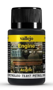 Petroleum-Flecken, 40ml · VAL 73817 ·  Acrylicos Vallejo