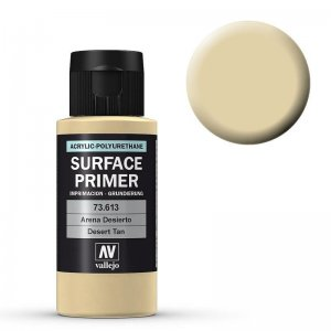 Grundierung Desert Tan Base (200ml) (Surface Primer) · VAL 74613 ·  Acrylicos Vallejo