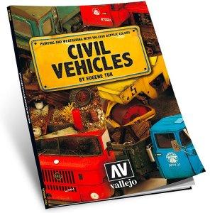 Buch Bemalung von zivilen Fahrzeugen, nur in englisch · VAL 75012 ·  Acrylicos Vallejo
