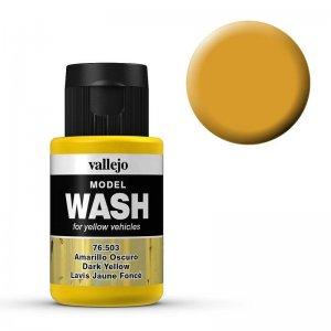 Model Wash 503 - Dark Yellow · VAL 76503 ·  Acrylicos Vallejo