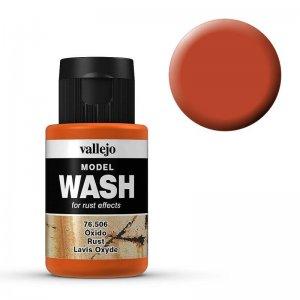 Model Wash 506 - Rust · VAL 76506 ·  Acrylicos Vallejo