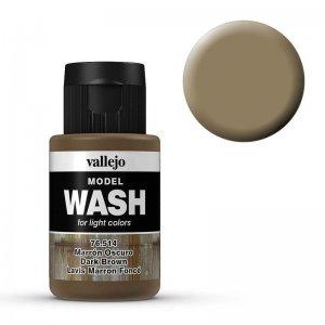 Model Wash 514 - Dark Brown · VAL 76514 ·  Acrylicos Vallejo
