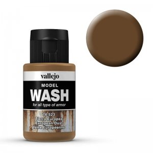 Model Wash 523 - European Dust · VAL 76523 ·  Acrylicos Vallejo