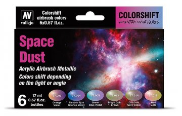 Farb-Set, Space Dust · VAL 77091 ·  Acrylicos Vallejo