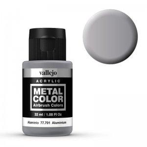 Metal Color 701 - Aluminium, 32 ml · VAL 77701 ·  Acrylicos Vallejo