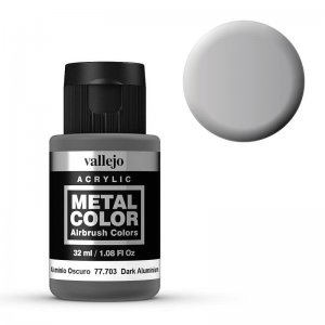 Metal Color 703 - Dunkles Aluminium, 32 ml · VAL 77703 ·  Acrylicos Vallejo