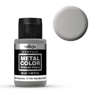 Metal Color 704 - Hell gebranntes Aluminium, 32 ml · VAL 77704 ·  Acrylicos Vallejo