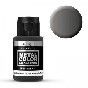 Metal Color 720 - Waffen Grau, 32 ml · VAL 77720 ·  Acrylicos Vallejo
