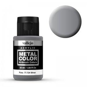 Metal Color 724 - Silber, 32 ml · VAL 77724 ·  Acrylicos Vallejo