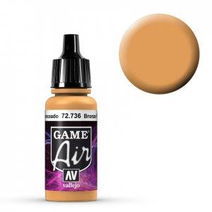 Bronze Fleshtone - 17 ml · VAL GA72736 ·  Acrylicos Vallejo