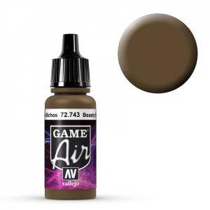 Beasty Brown - 17 ml · VAL GA72743 ·  Acrylicos Vallejo