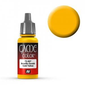 Gold Yellow - 17 ml · VAL GC72007 ·  Acrylicos Vallejo