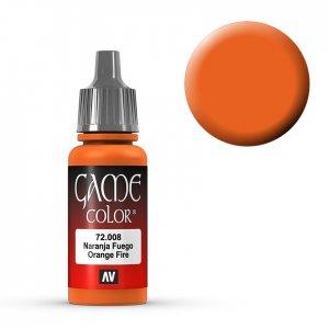 Orange Fire - 17 ml · VAL GC72008 ·  Acrylicos Vallejo