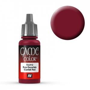 Scarlett Red - 17 ml · VAL GC72012 ·  Acrylicos Vallejo