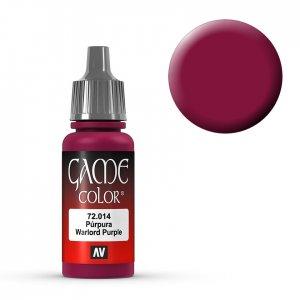 Warlord Purple - 17 ml · VAL GC72014 ·  Acrylicos Vallejo