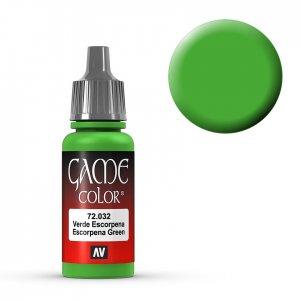 Escorpena Green - 17 ml · VAL GC72032 ·  Acrylicos Vallejo