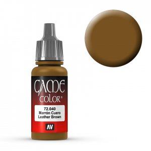 Leather Brown - 17 ml · VAL GC72040 ·  Acrylicos Vallejo
