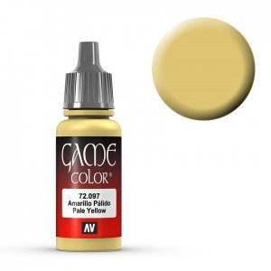 Pale Yellow - 17 ml · VAL GC72097 ·  Acrylicos Vallejo