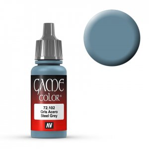 Steel Grey - 17 ml · VAL GC72102 ·  Acrylicos Vallejo