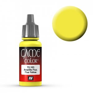 Fluo Yellow - 17 ml · VAL GC72103 ·  Acrylicos Vallejo