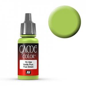Fluo Green - 17 ml · VAL GC72104 ·  Acrylicos Vallejo