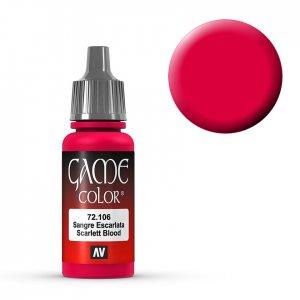 Scarlett Blood - 17 ml · VAL GC72106 ·  Acrylicos Vallejo