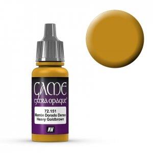 Heavy Goldbrown - 17 ml · VAL GC72151 ·  Acrylicos Vallejo