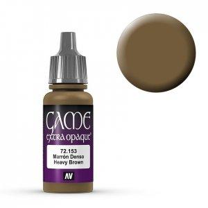 Heavy Brown - 17 ml · VAL GC72153 ·  Acrylicos Vallejo