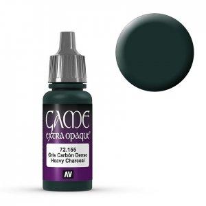 Heavy Charcoal - 17 ml · VAL GC72155 ·  Acrylicos Vallejo