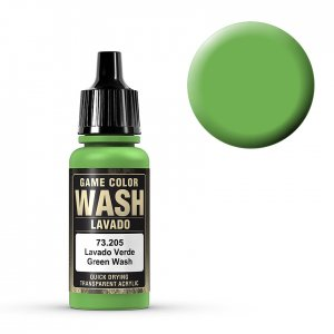 Wash-Color, Green Wash - 17 ml · VAL GC73205 ·  Acrylicos Vallejo