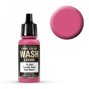 Wash-Color, Red Wash - 17 ml · VAL GC73206 ·  Acrylicos Vallejo