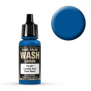 Wash-Color, Blue Wash - 17 ml · VAL GC73207 ·  Acrylicos Vallejo