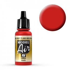 Model Air - Scharlachrot (Scarlet Red) - 17 ml · VAL MA71003 ·  Acrylicos Vallejo