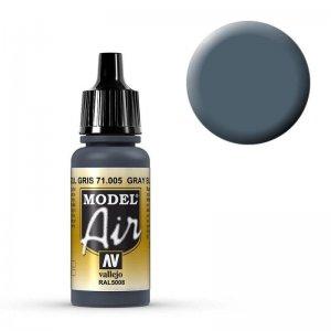 Model Air - Mittelblau (Intermediate Blue) - 17 ml · VAL MA71005 ·  Acrylicos Vallejo