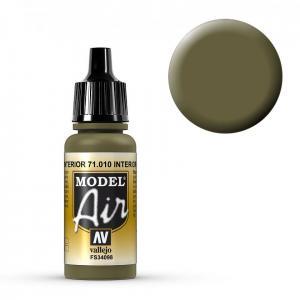 Model Air - Cockpitgrün (Interior Green) - 17 ml · VAL MA71010 ·  Acrylicos Vallejo