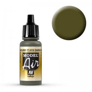 Model Air - Dunkelgrün (Dark Green) - 17 ml · VAL MA71012 ·  Acrylicos Vallejo