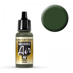 Model Air - Russischgrün (Russian Green) - 17 ml · VAL MA71017 ·  Acrylicos Vallejo