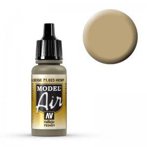 Model Air - Hanfbeige (Hemp) - 17 ml · VAL MA71023 ·  Acrylicos Vallejo